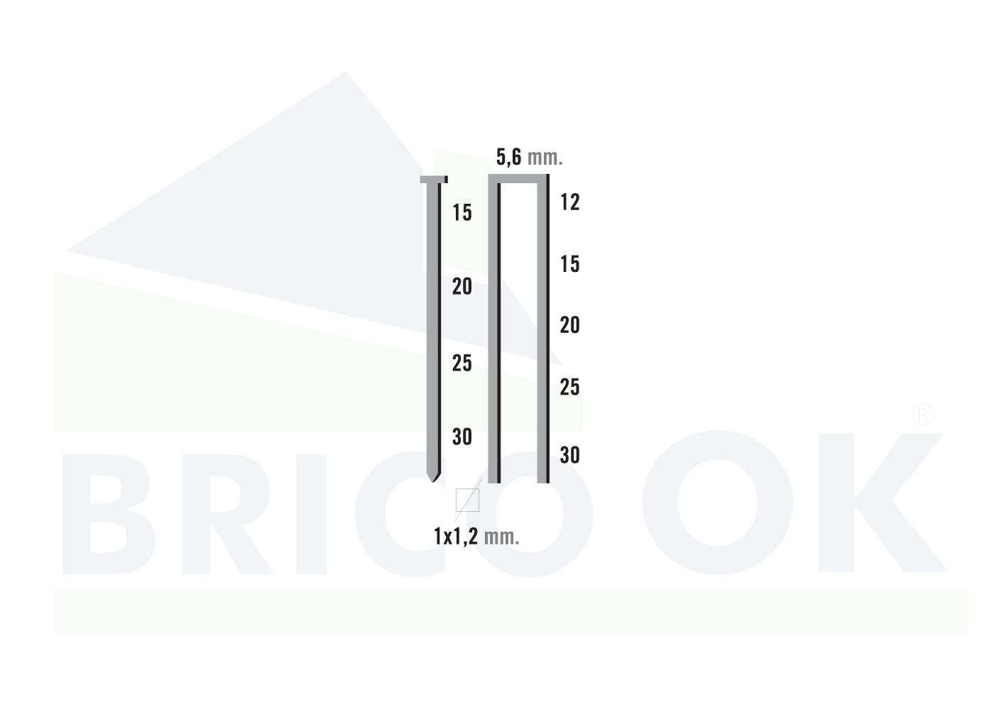 Clava-Grapadora BK-COMBI/32