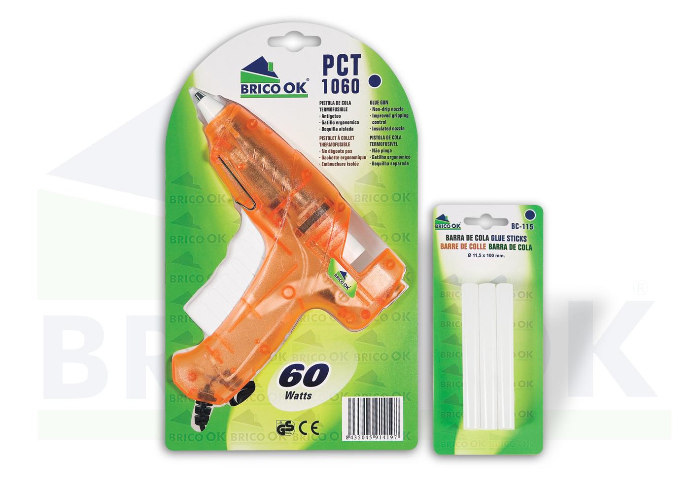 Pistola de cola PCT-1060