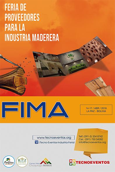 FIMA 2016 Feria del mueble y la madera en La Paz, Bolivia