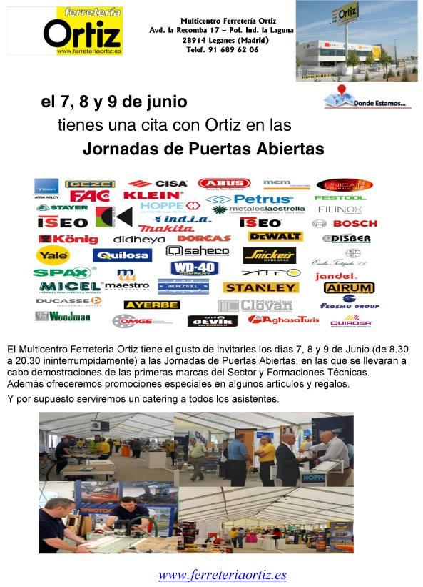 Jornada Puertas Abiertas Ferretería Ortiz
