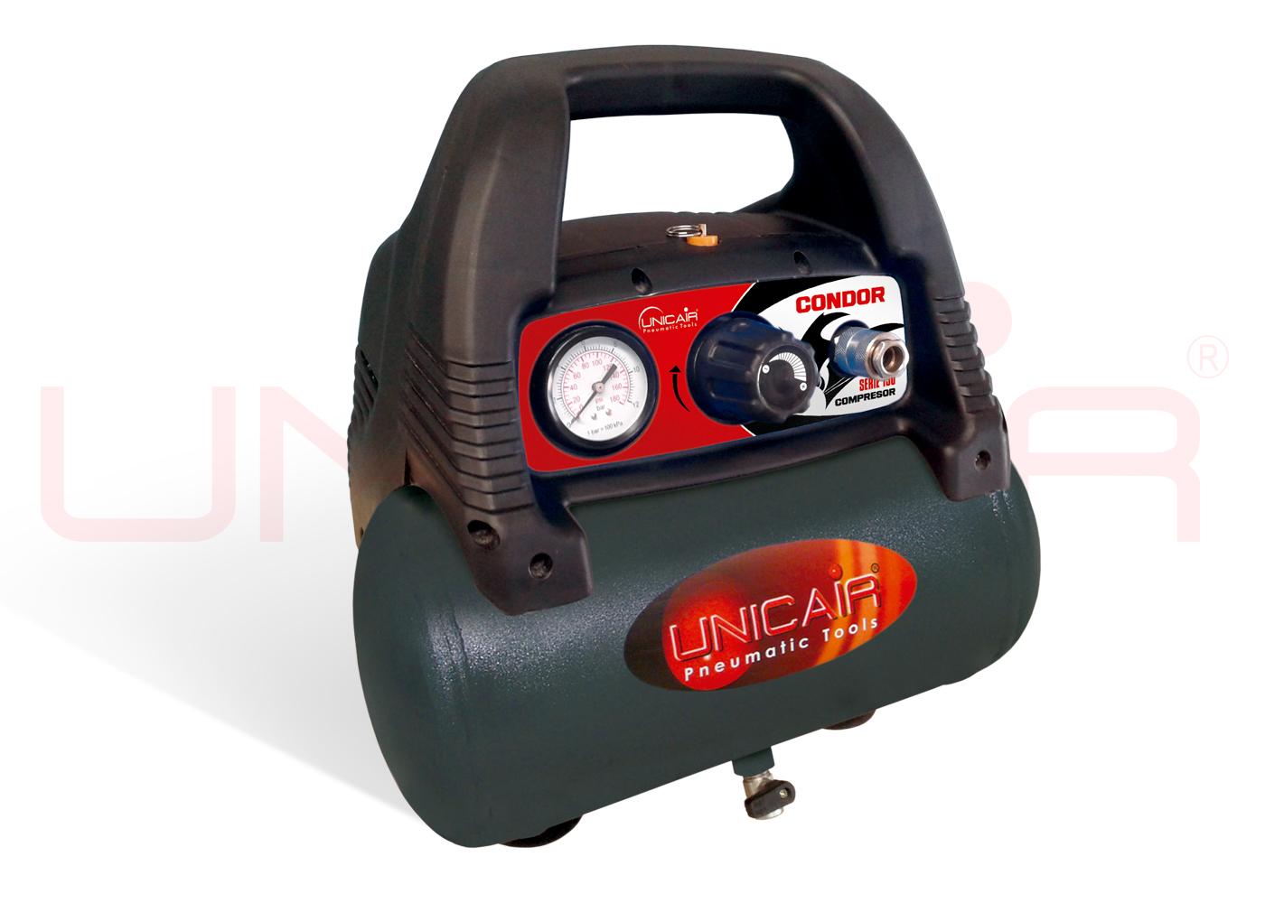 Compresor condor sin aceite de 6 l for Aceite para compresor